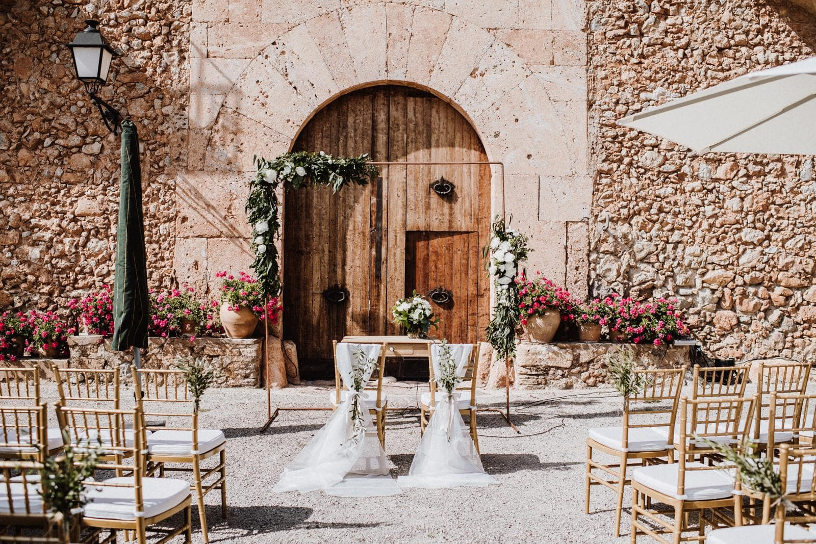 Beautiful places for weddings in Spain