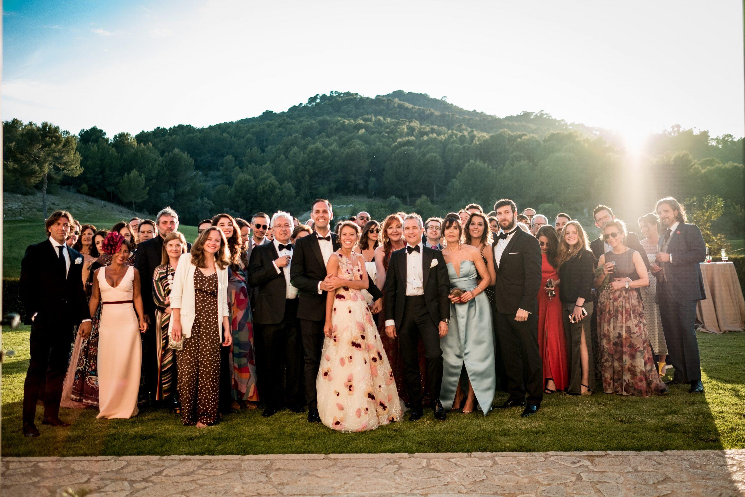 Wedding in mountain Spain