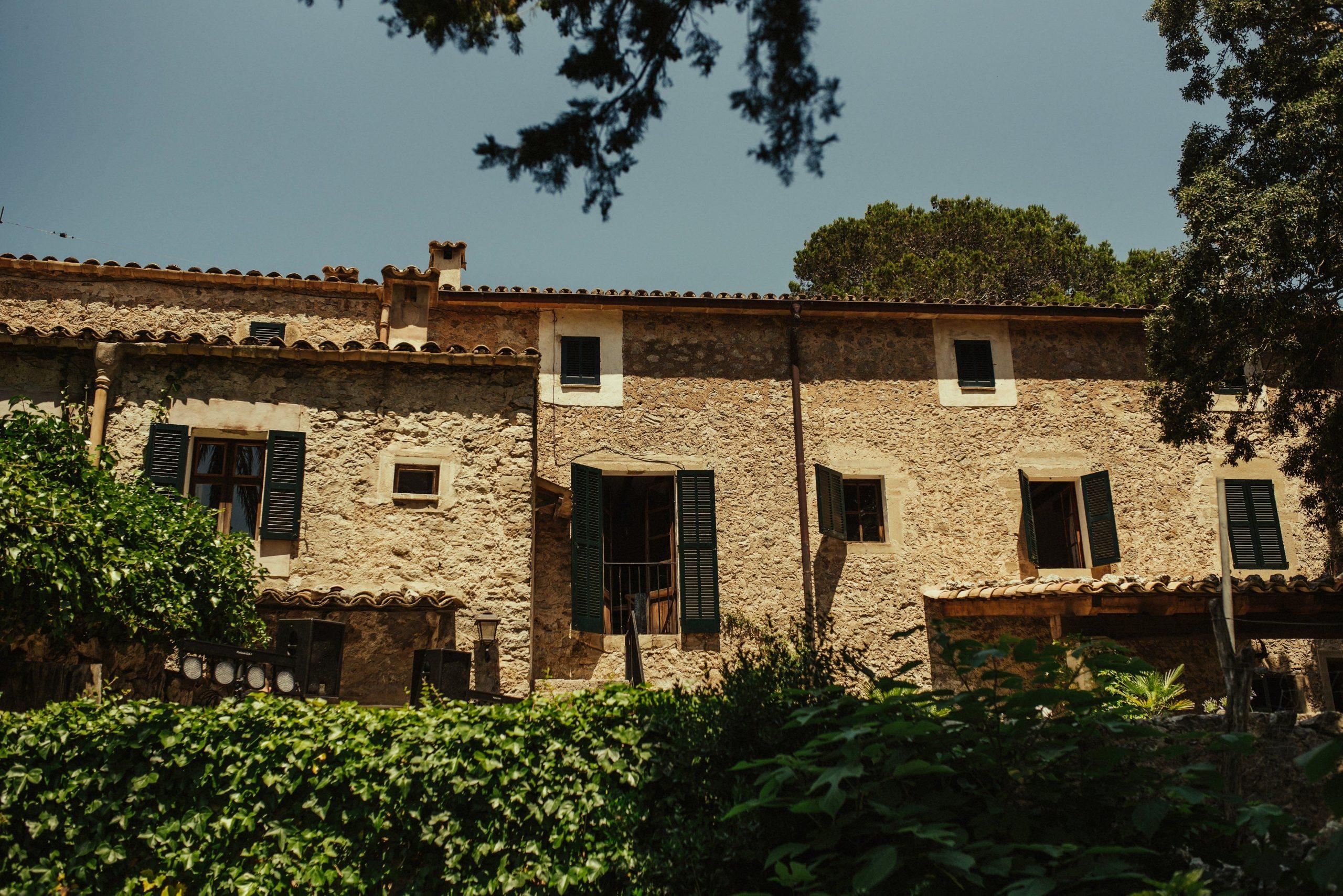 Boda en sitio especial de Mallorca