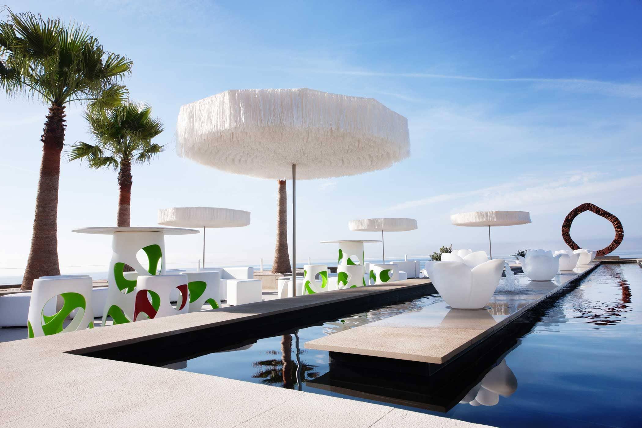 Anima Beach Club para bodas y eventos en la bahía de Palma de Mallorca