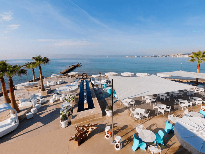 Anima Beach Club wedding destination at Palma Bay for wedding and event destination