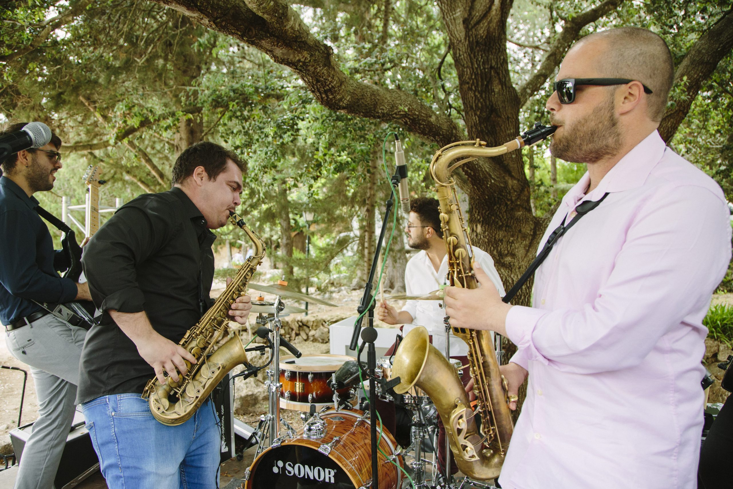 Wedding with Saxo Music