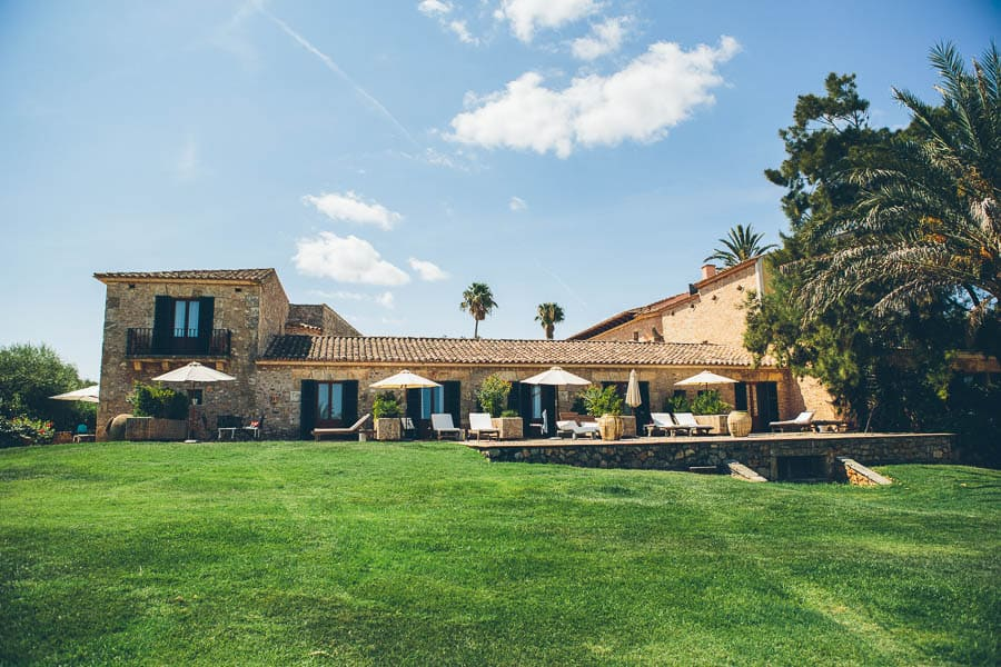 Luxury venue Casal Santa Eulalia for wedding and event in Mallorca