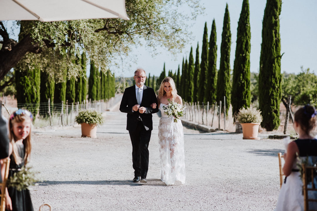 Charming venue with rustic courtyard finca Es Cabas Mallorca
