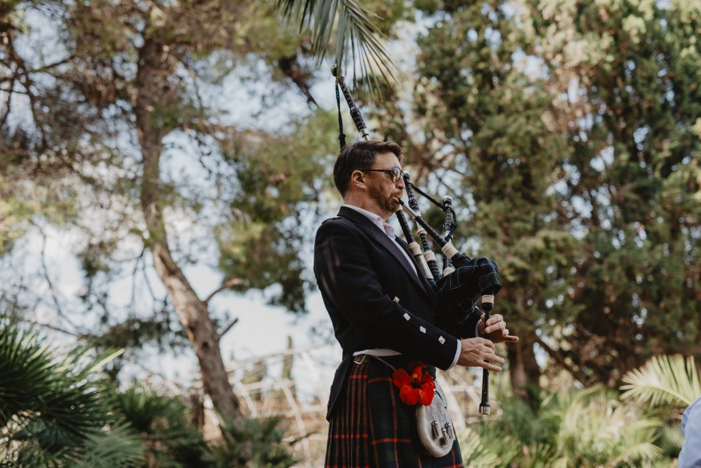 life music for wedding finca Mallorca