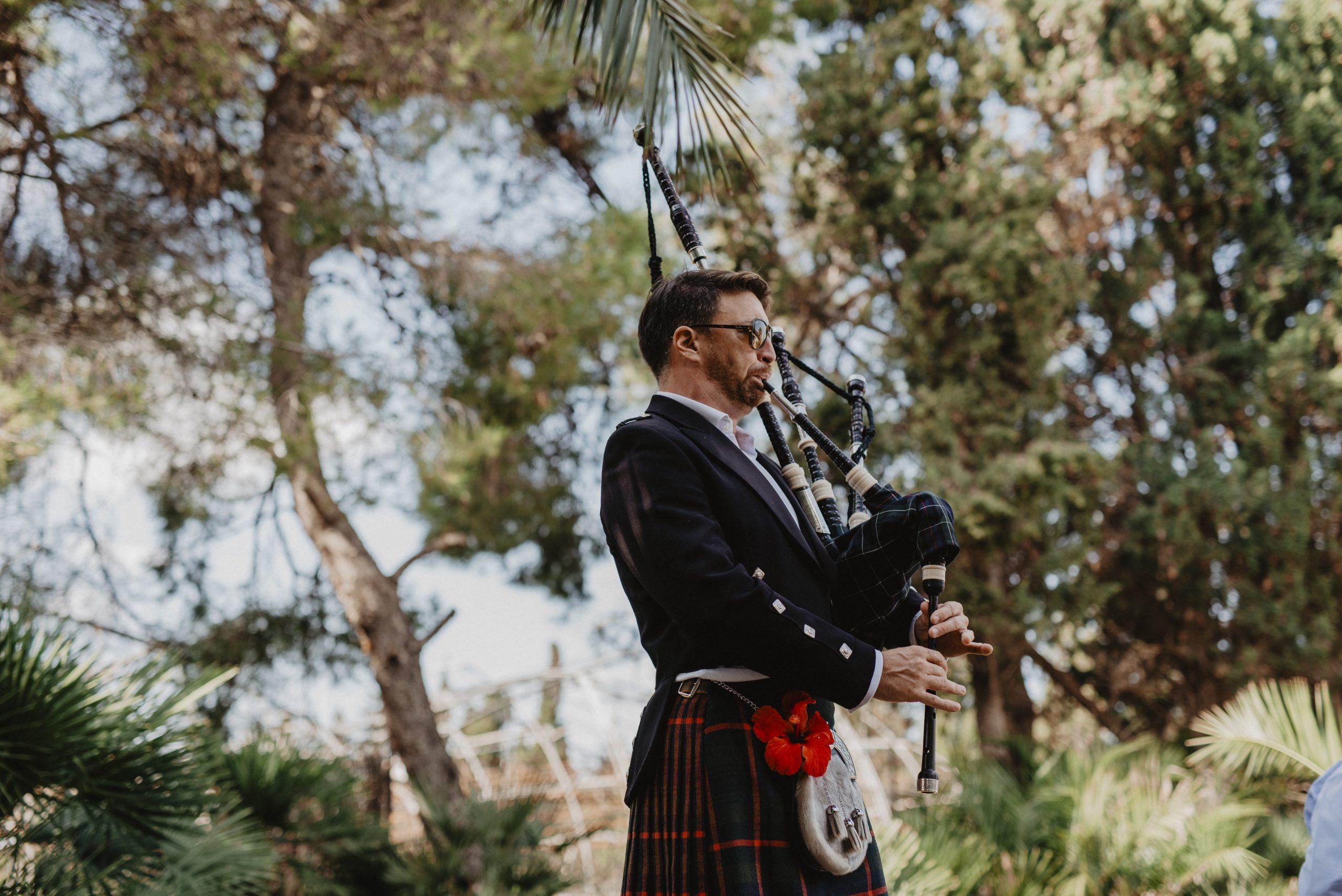 música en vivo para bodas en una finca en Mallorca