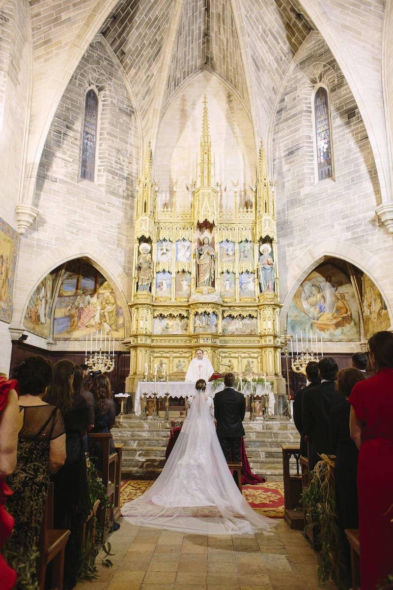 wedding planner for catholic ceremony in Alcudia church Mallorca