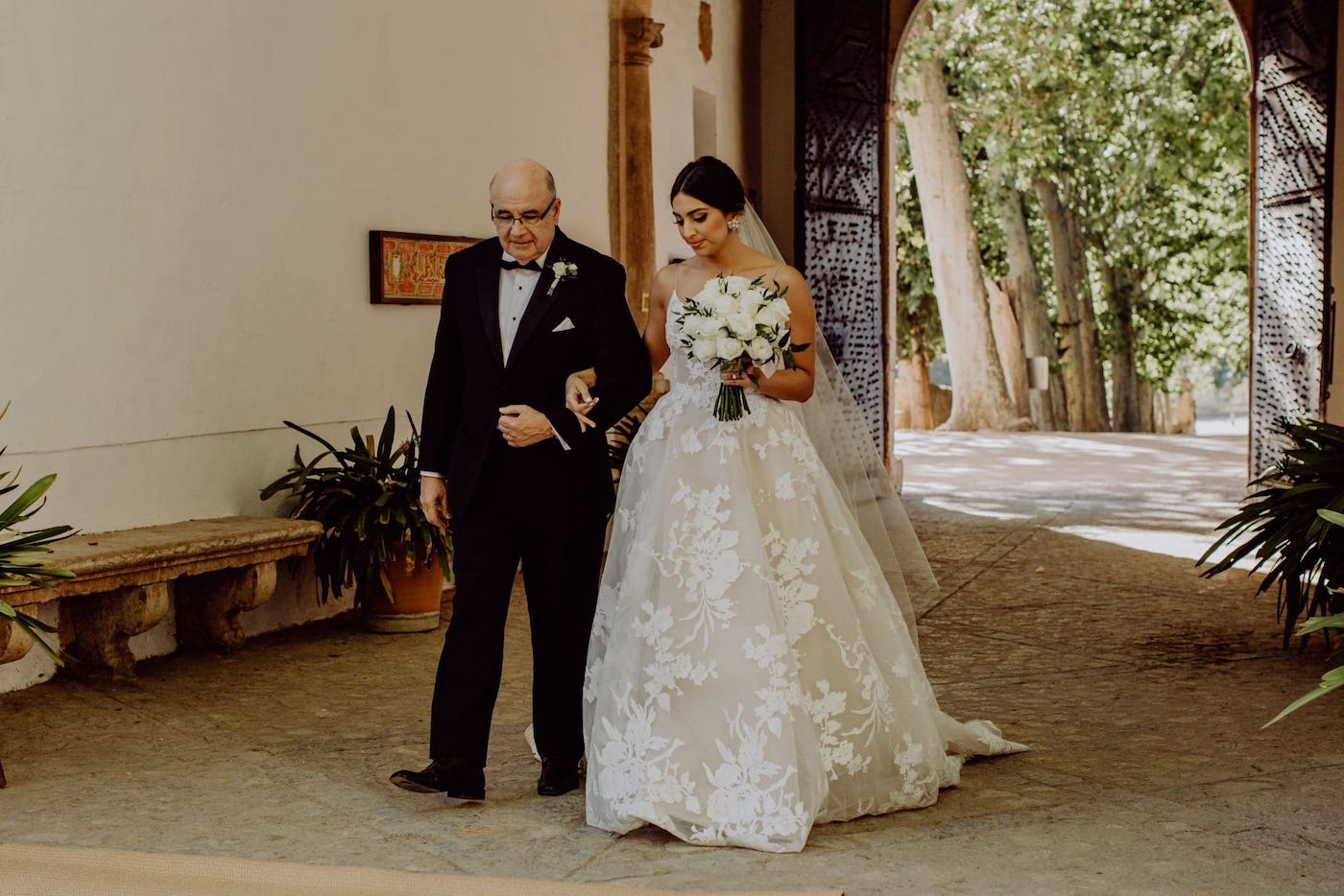 civil ceremony for beautiful wedding at Soller Mallorca