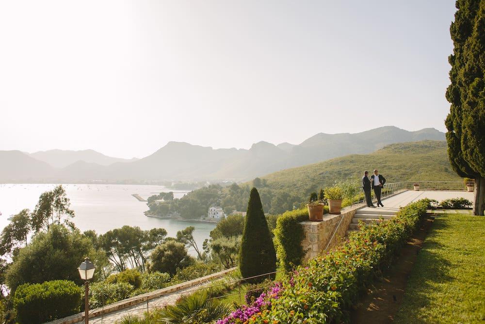 vacational wedding rent in luxury location Pollensa