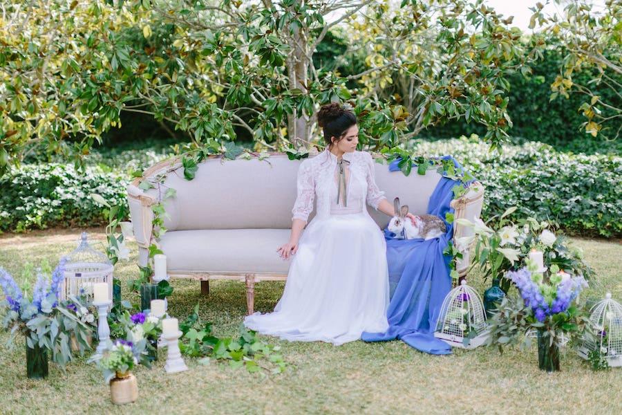 boda en una finca con encanto con decoración rústica en Mallorca
