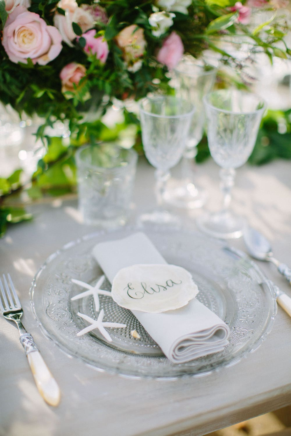 table setting ideas from wedding planner in Mallorca