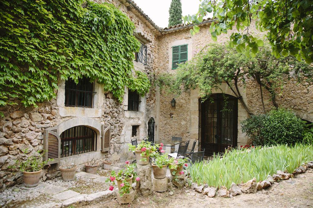 Finca es Fangar in Mallorca for wedding and event