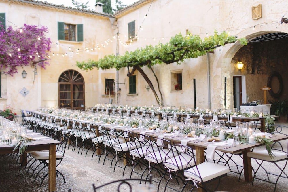 Es Fangar wedding destination for event in Mallorca