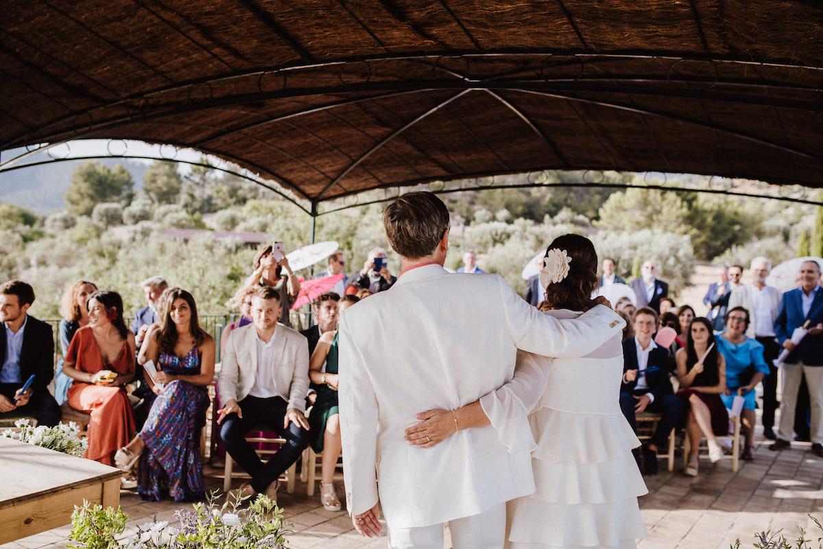 wedding venue with mountain views finca es cabas Mallorca