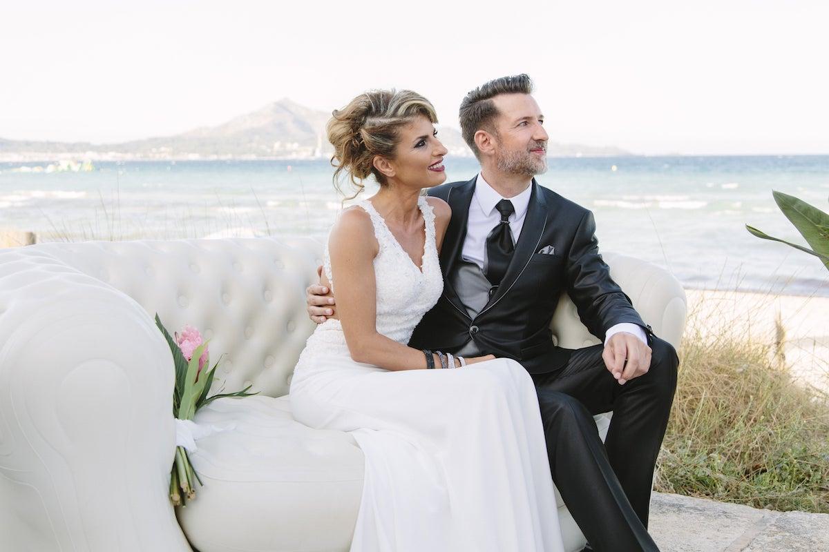 beach club for wedding by the sea Mallorca