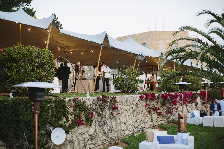 la fortaleza pollensa for pool party organized by event planner Mallorca