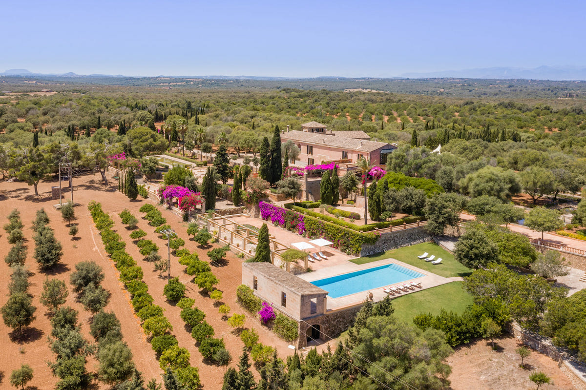 Son Doblons villa wedding and event Mallorca