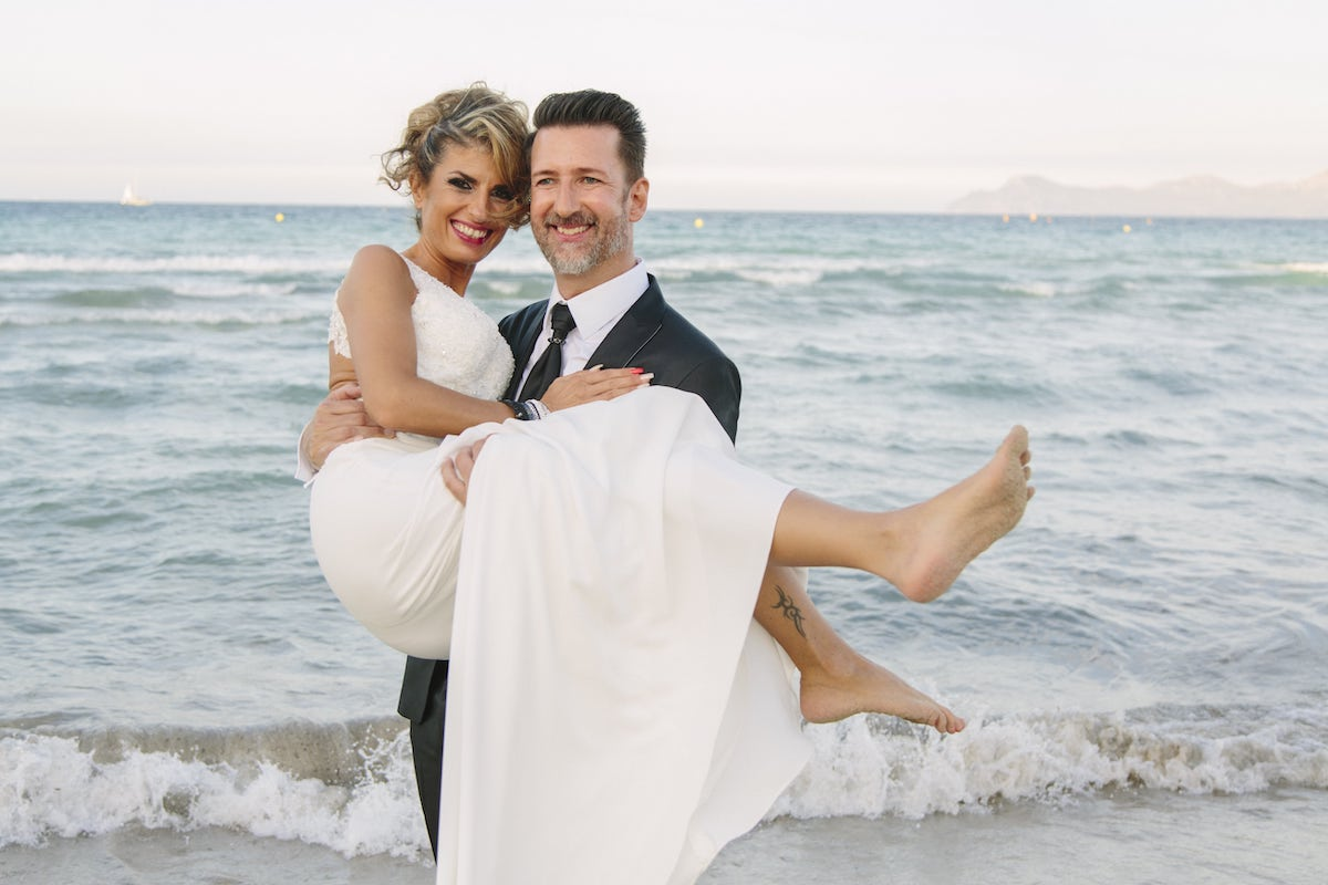 Royal beach club wedding in Alcudia Mallorca