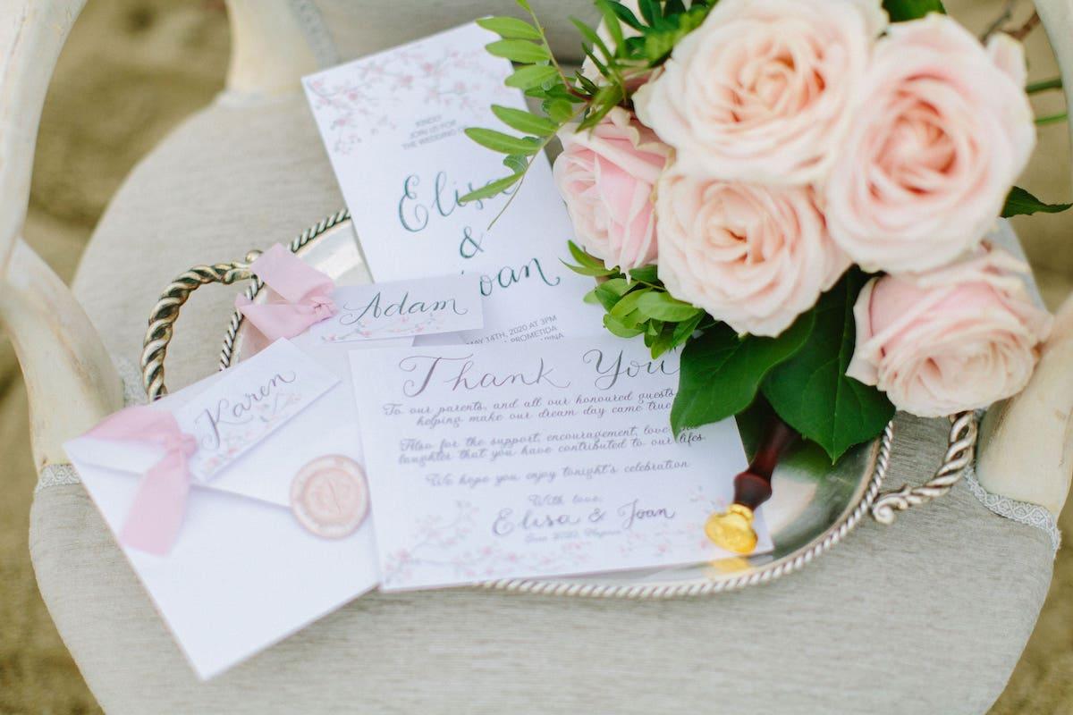 wedding invitation ideas for wedding in Mallorca