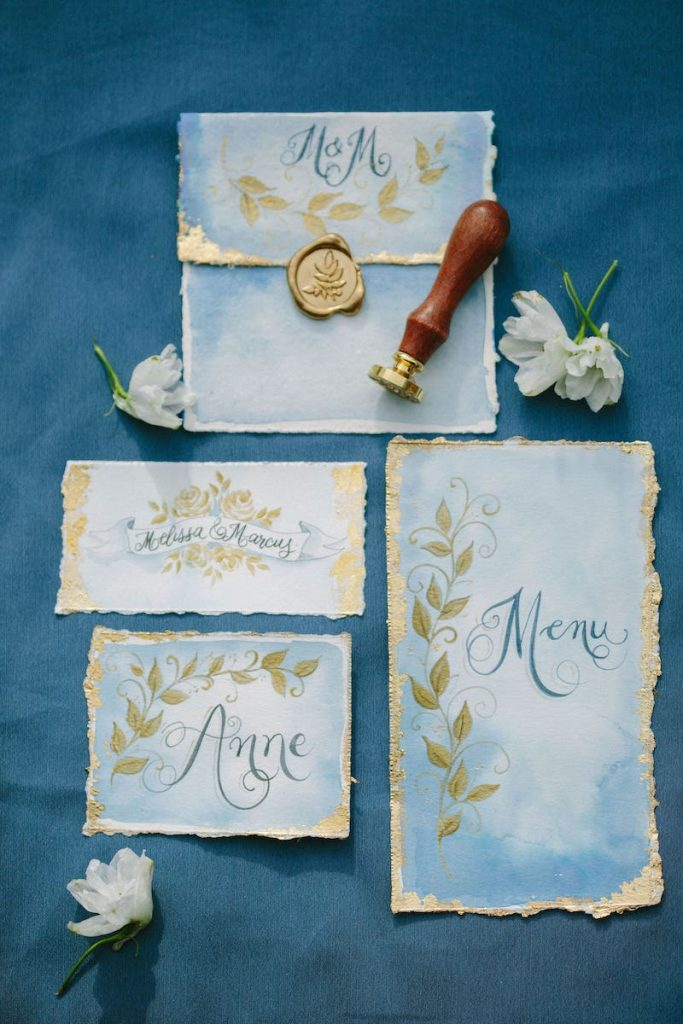 handmade wedding invitation ideas for wedding in Mallorca