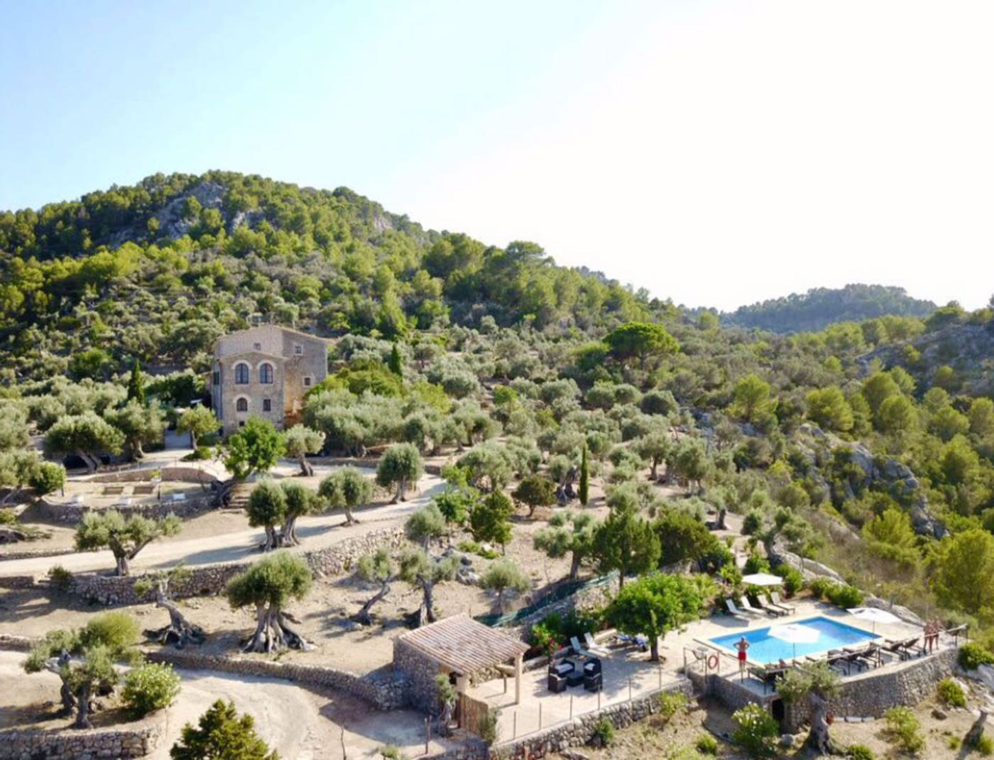 finca in the mountain for wedding location in Mallorca