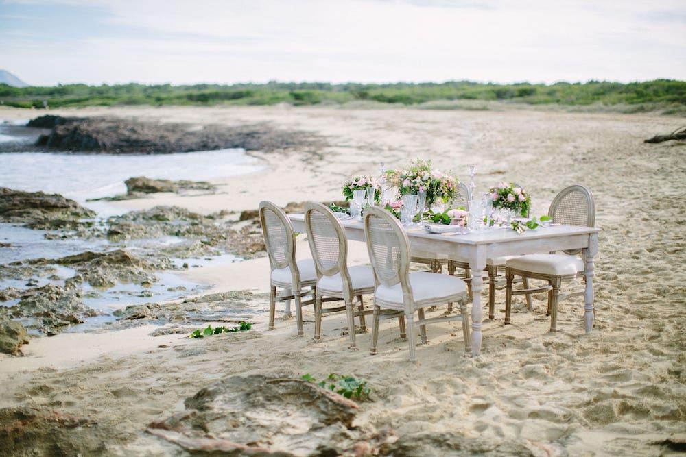 Ten en cuenta lo que se necesita para organizar una boda en la playa