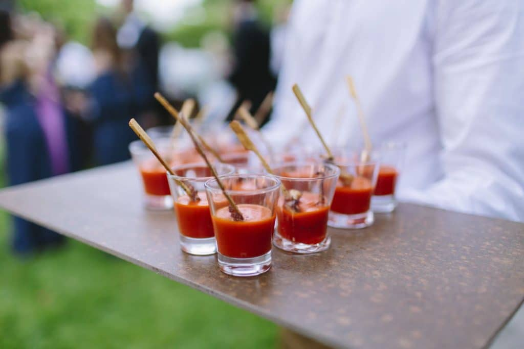 Ideas for wedding appetizers in Mallorca