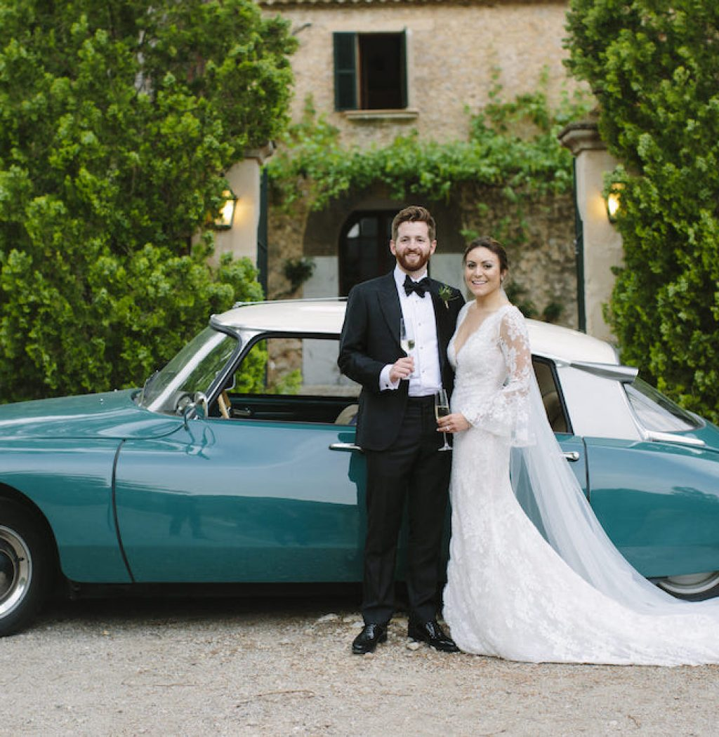 classic wedding bridal car for rent in Mallorca
