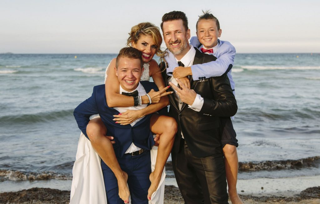 exclusive wedding beach for Mediterranean wedding