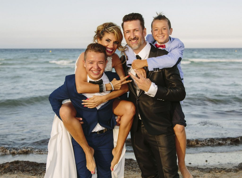 exclusive wedding beach for Mediterranean wedding