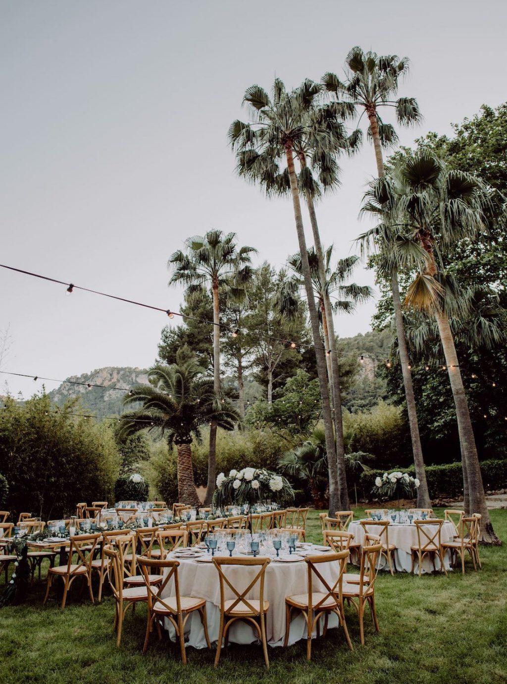 wedding venue at Soller Mallorca