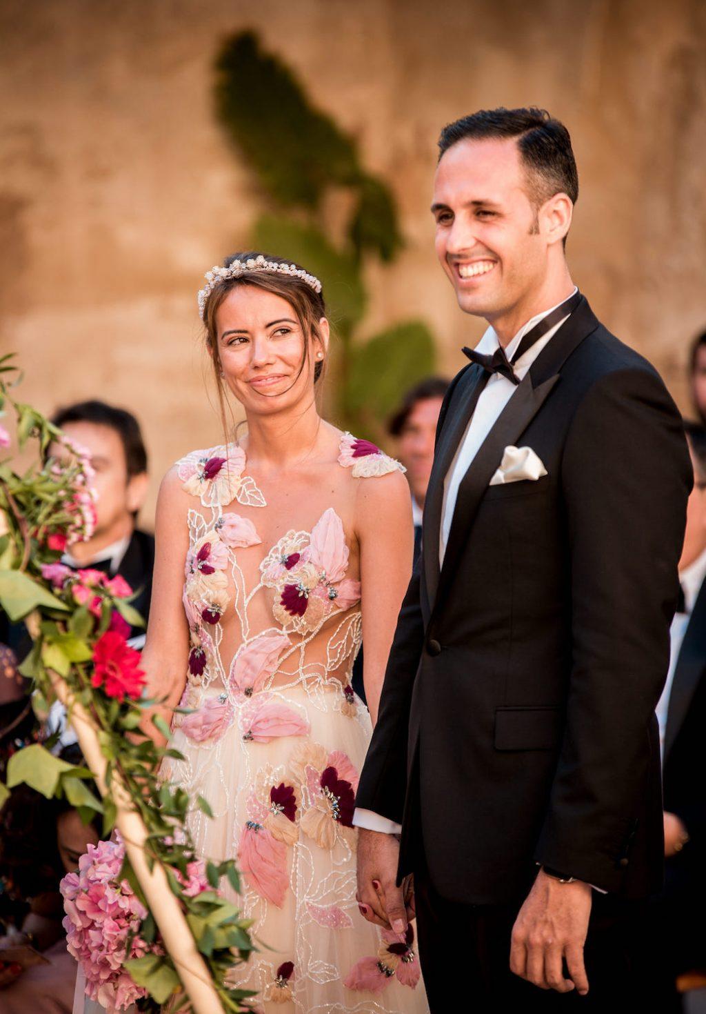 wedding planner en Mallorca para una boda rústica en la finca biniorella Andratx
