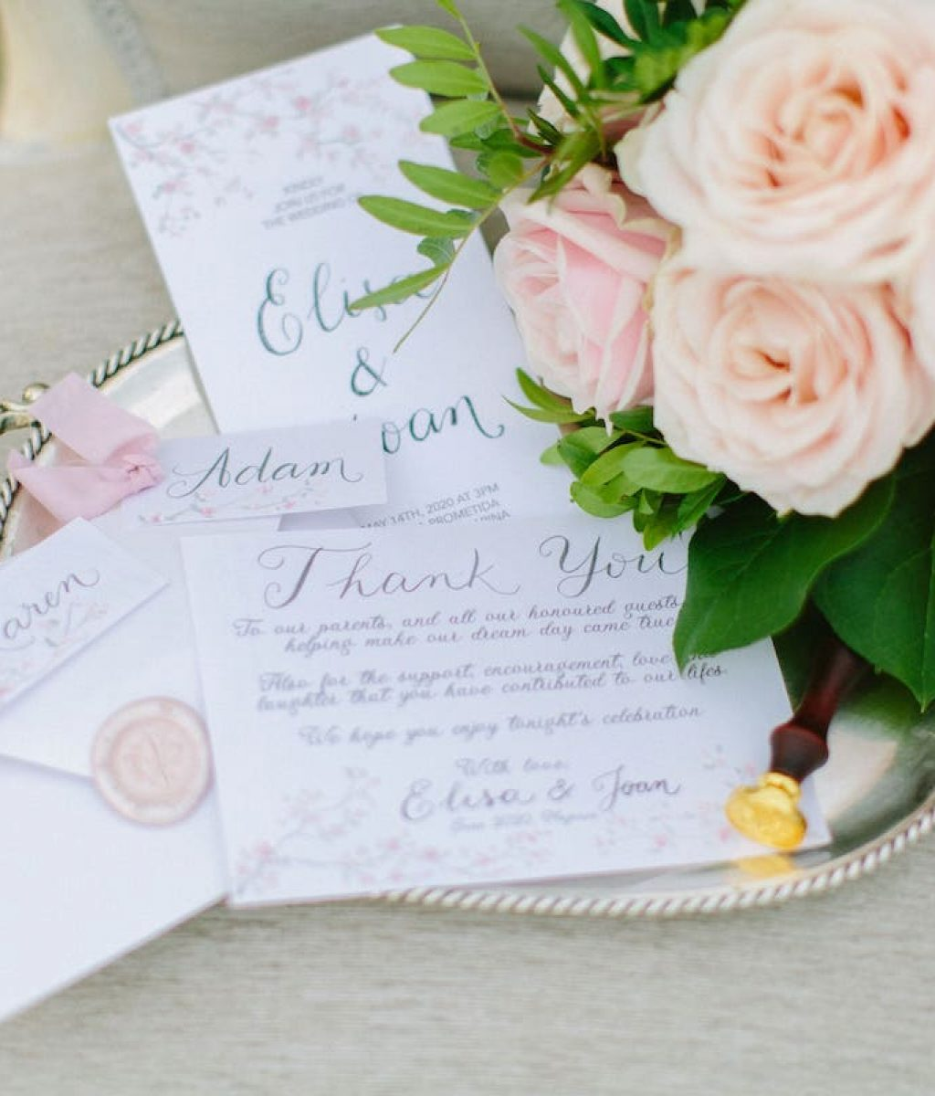 wedding invitation ideas for wedding in Mallorca