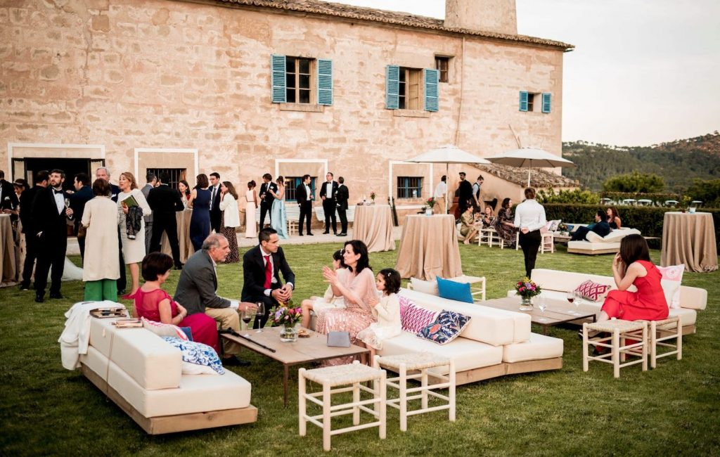 relaxing stunning views for wedding at biniorella mallorca