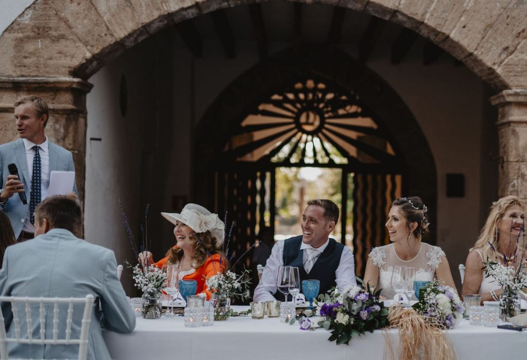 cocktail wedding reception ideas to get married in finca in Mallorca