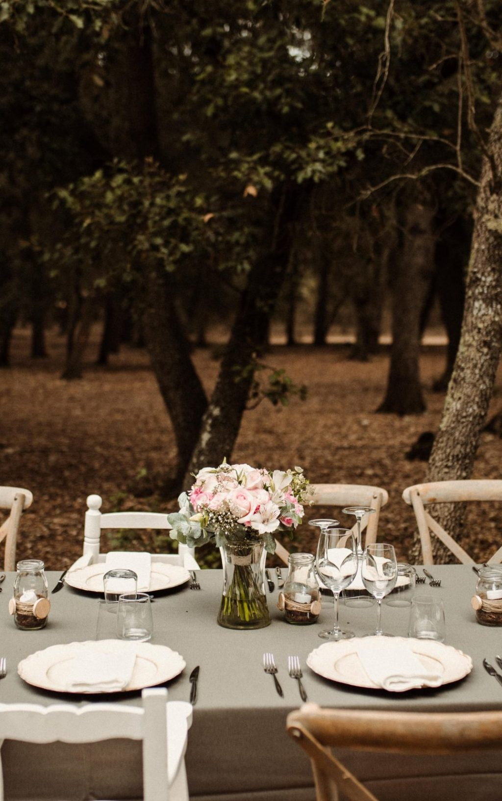 Wedding in the woods Majorca