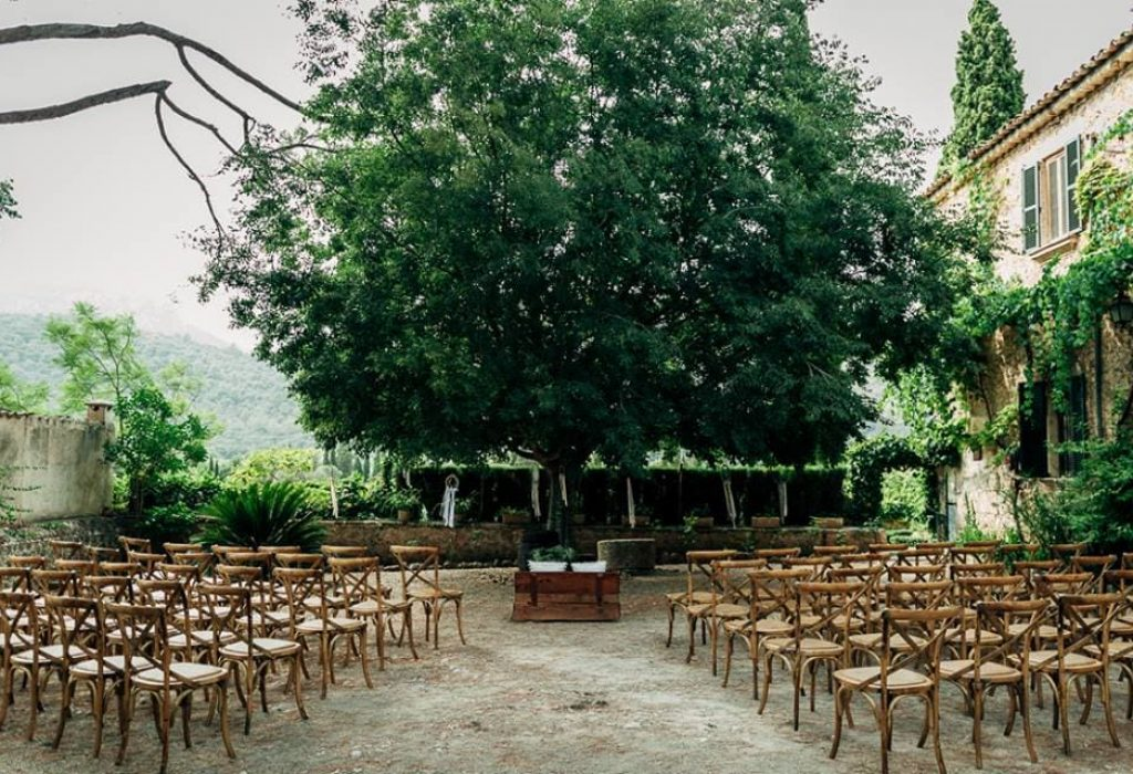 Wedding in the nature of Mallorca