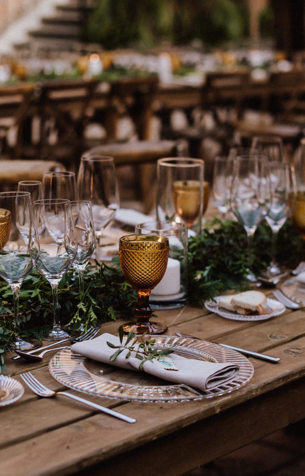 Decoración para una boda