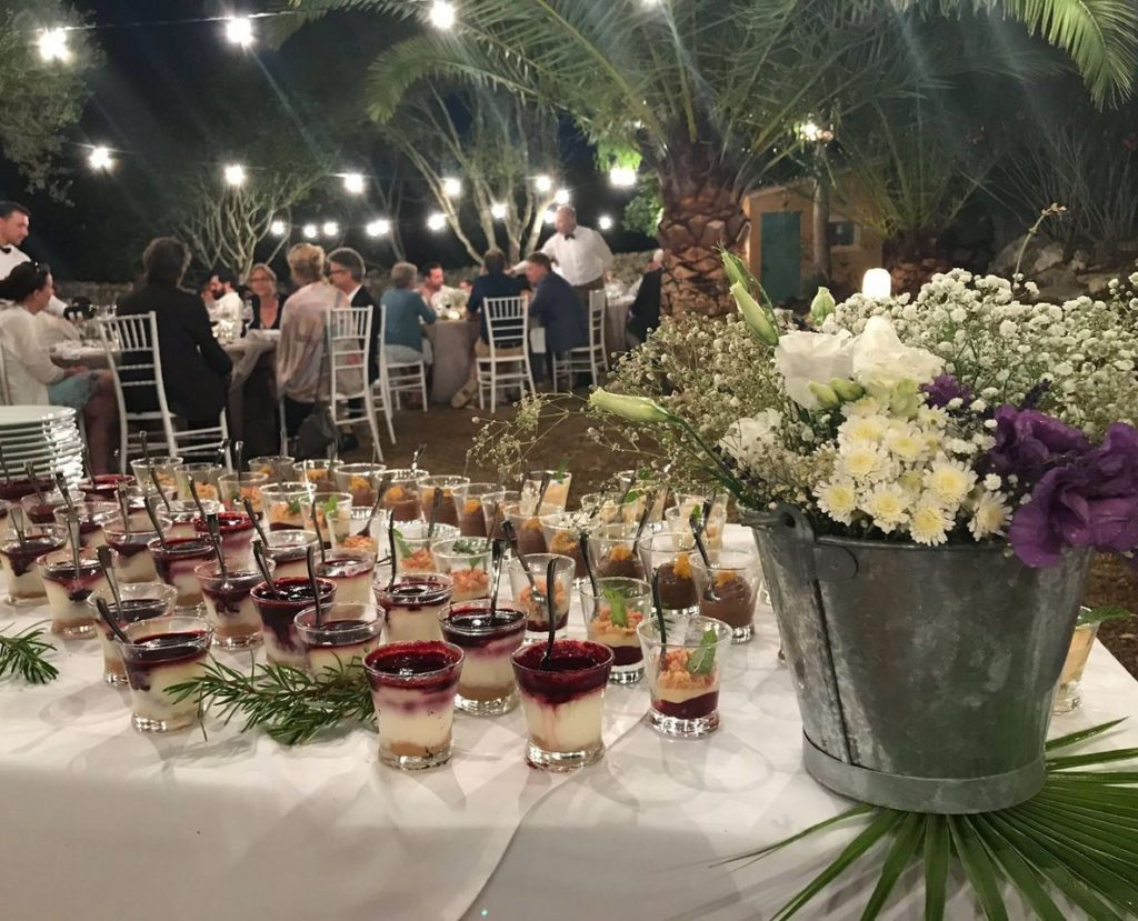 Catering for Wedding in Majorca