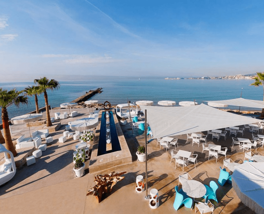 Anima Beach Club wedding destination at Palma Bay for wedding and event destination