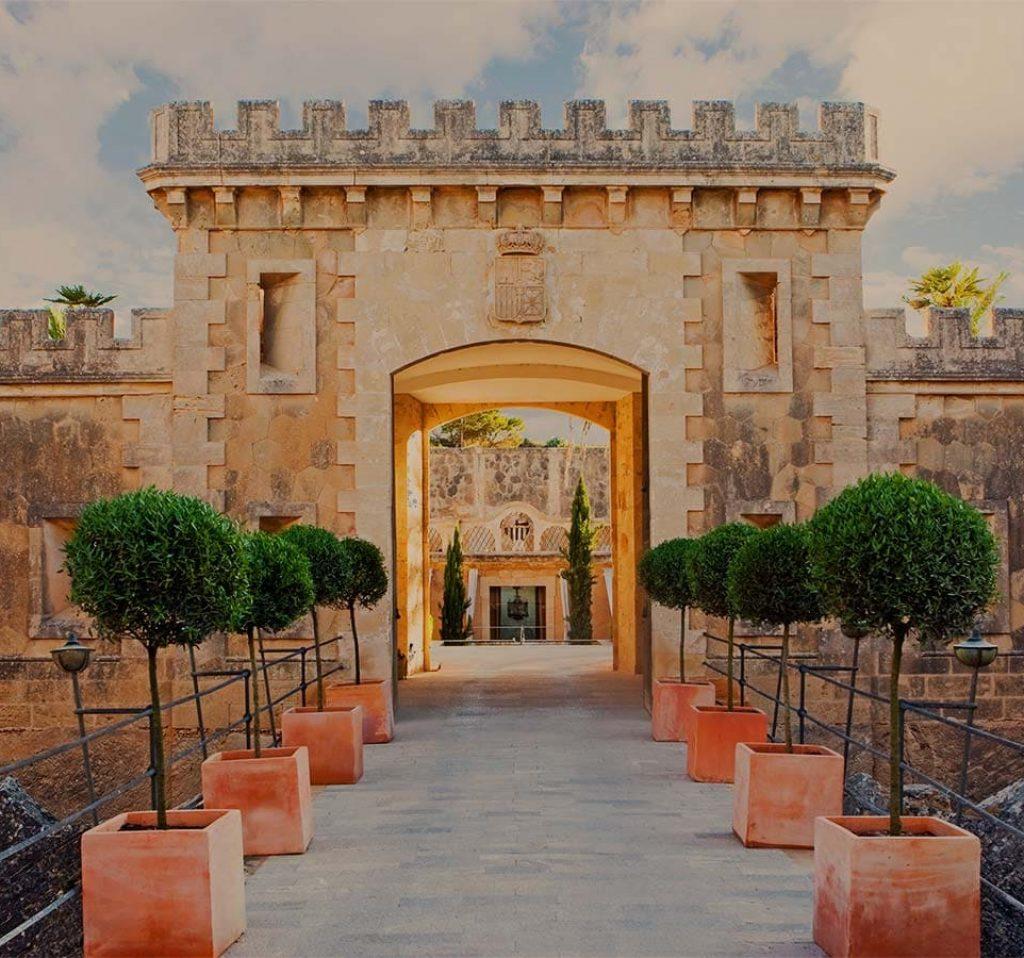 luxury hotel cap rocat in Palma de Mallorca