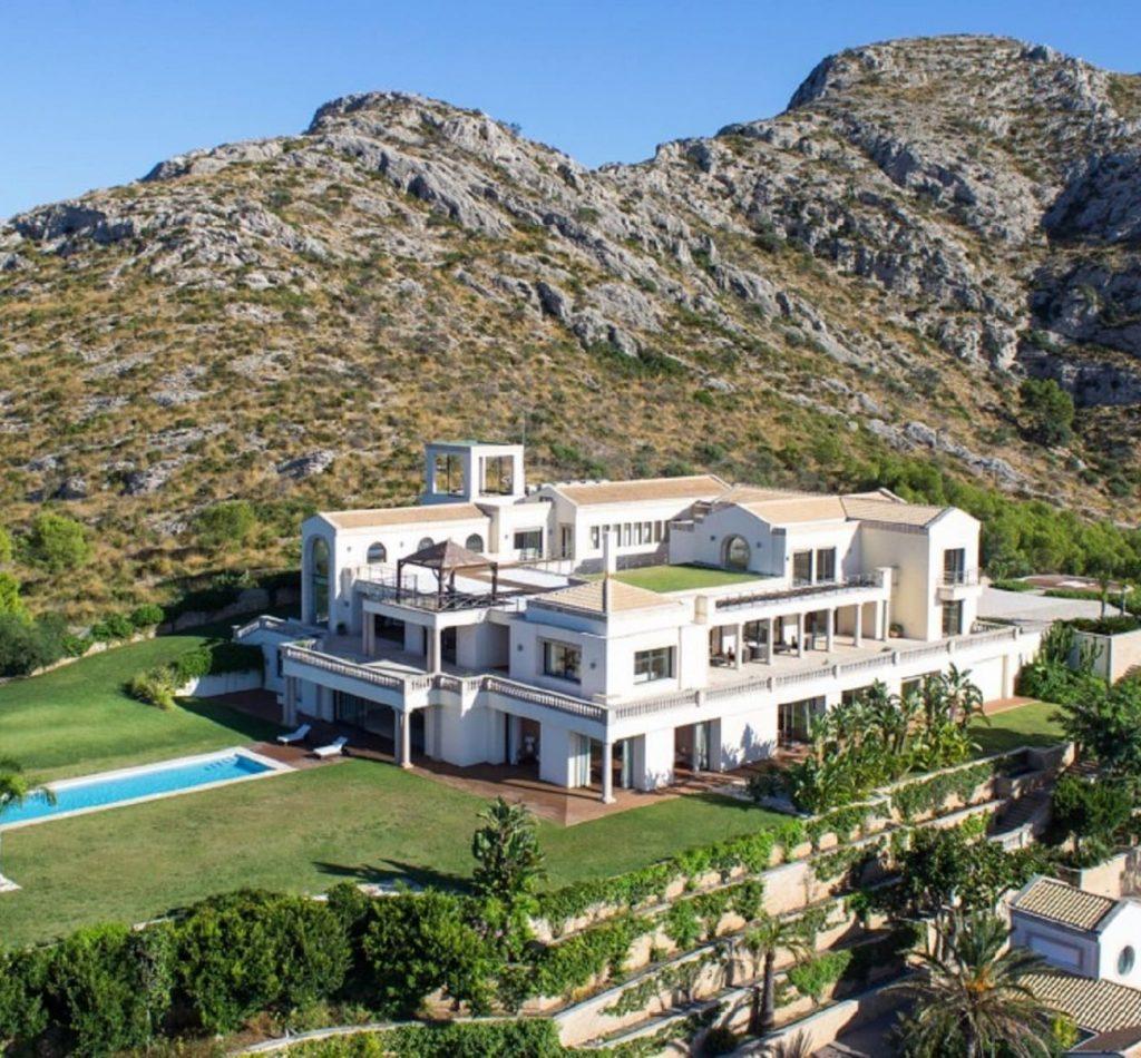 Villa de lujo en Bonaire para bodas y eventos en la bahía de alcudia Mallorca
