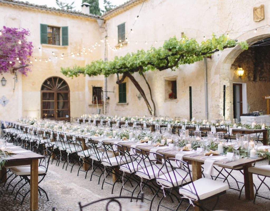 Es Fangar wedding destination for event in Mallorca