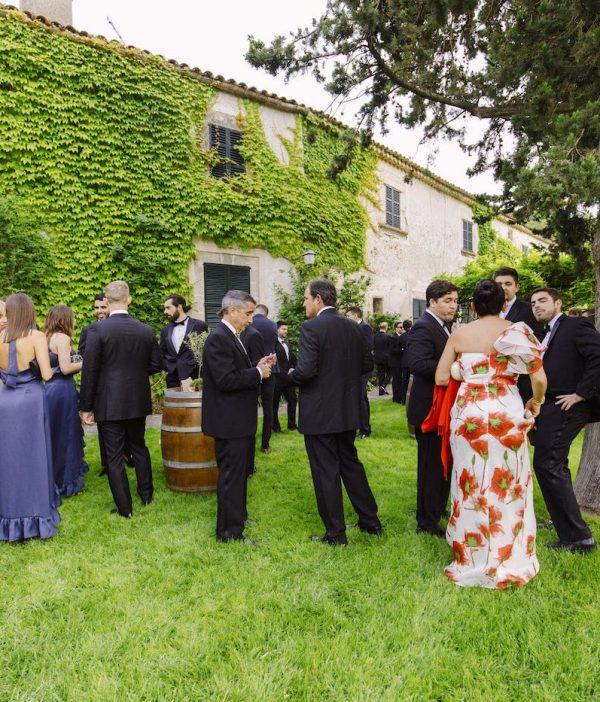 finca es fangar para bodas rústicas y eventos elegantes en Campanet Mallorca