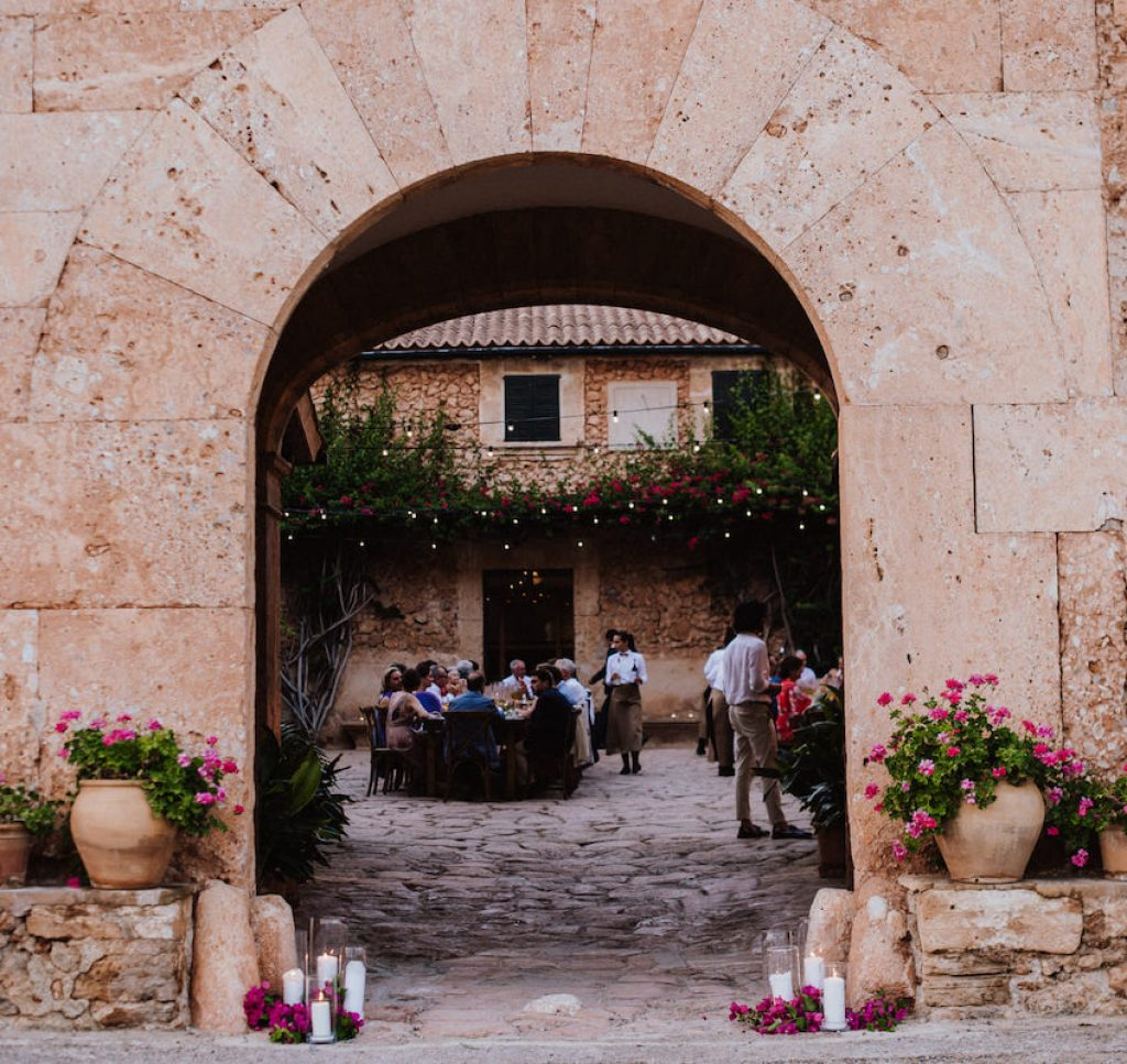 wedding rustic venue to plan your wedding in Mallorca