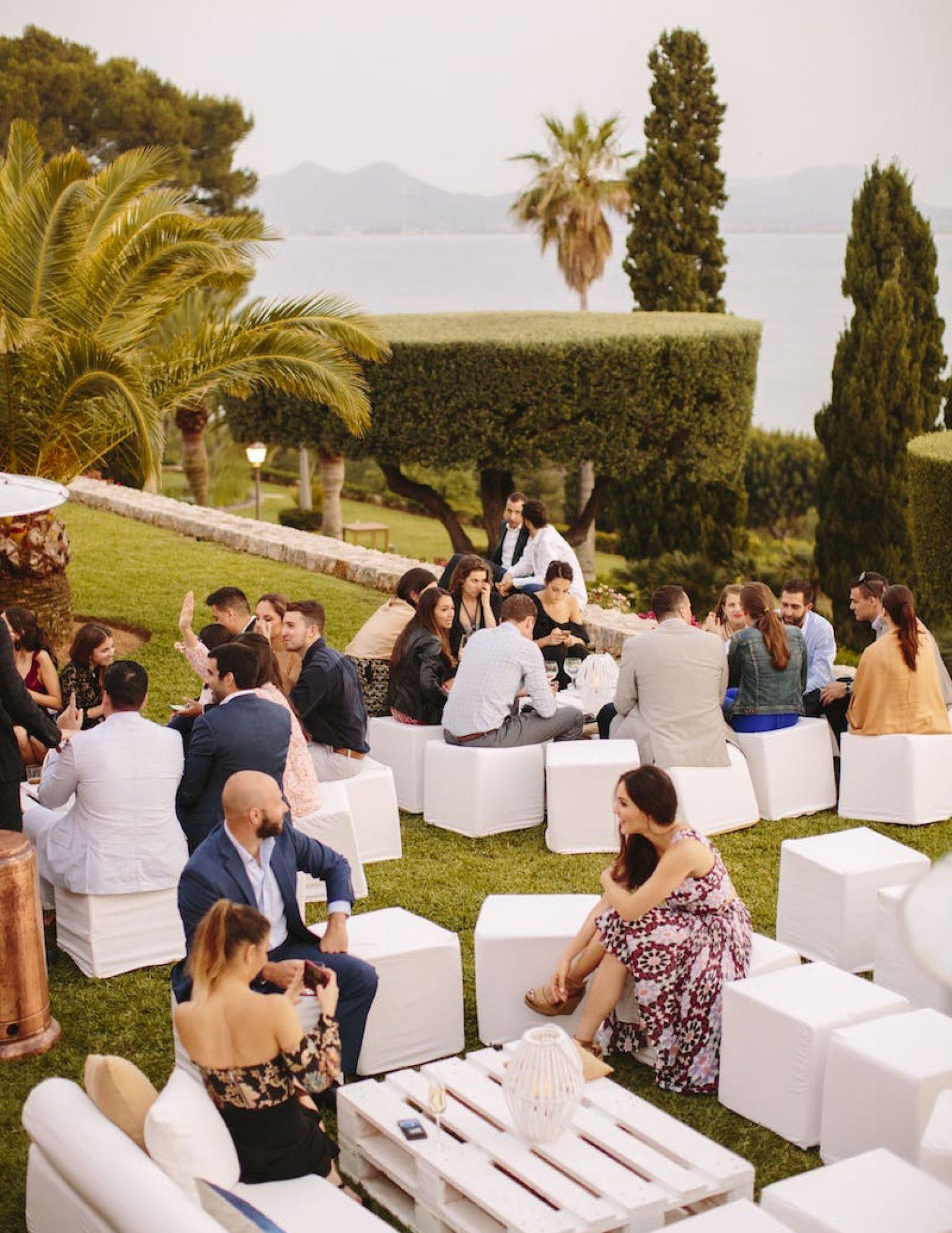 organizar mi boda en un lugar con vistas al mar en la fortaleza de pollensa Mallorca