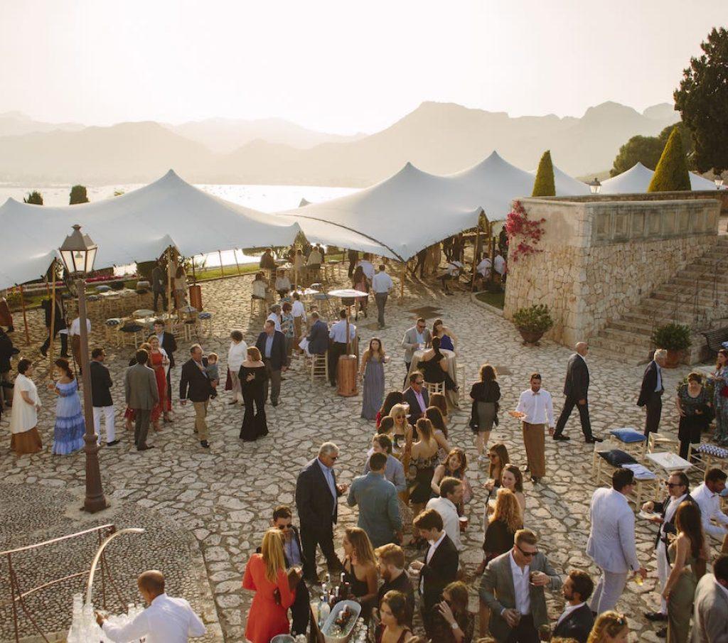 lugar bonito para casarse o celebrar un evento en Pollensa Mallorca