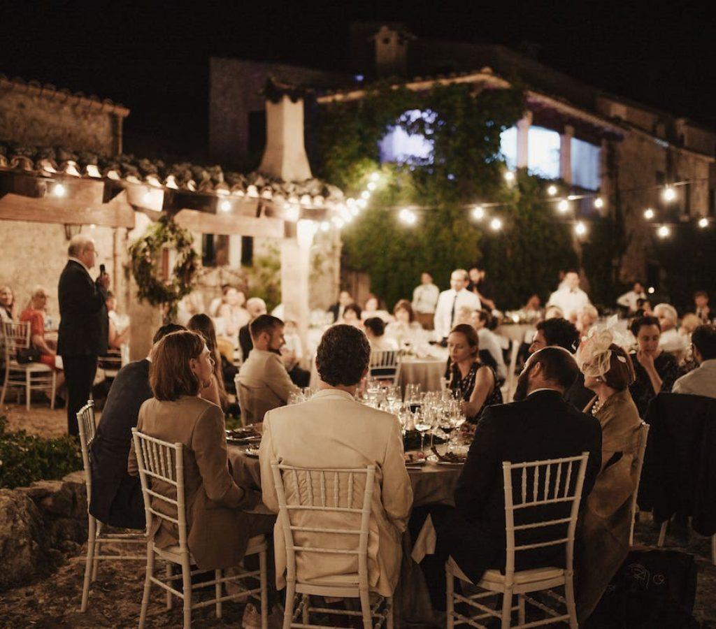 wedding catering in finca mortitx mallorca