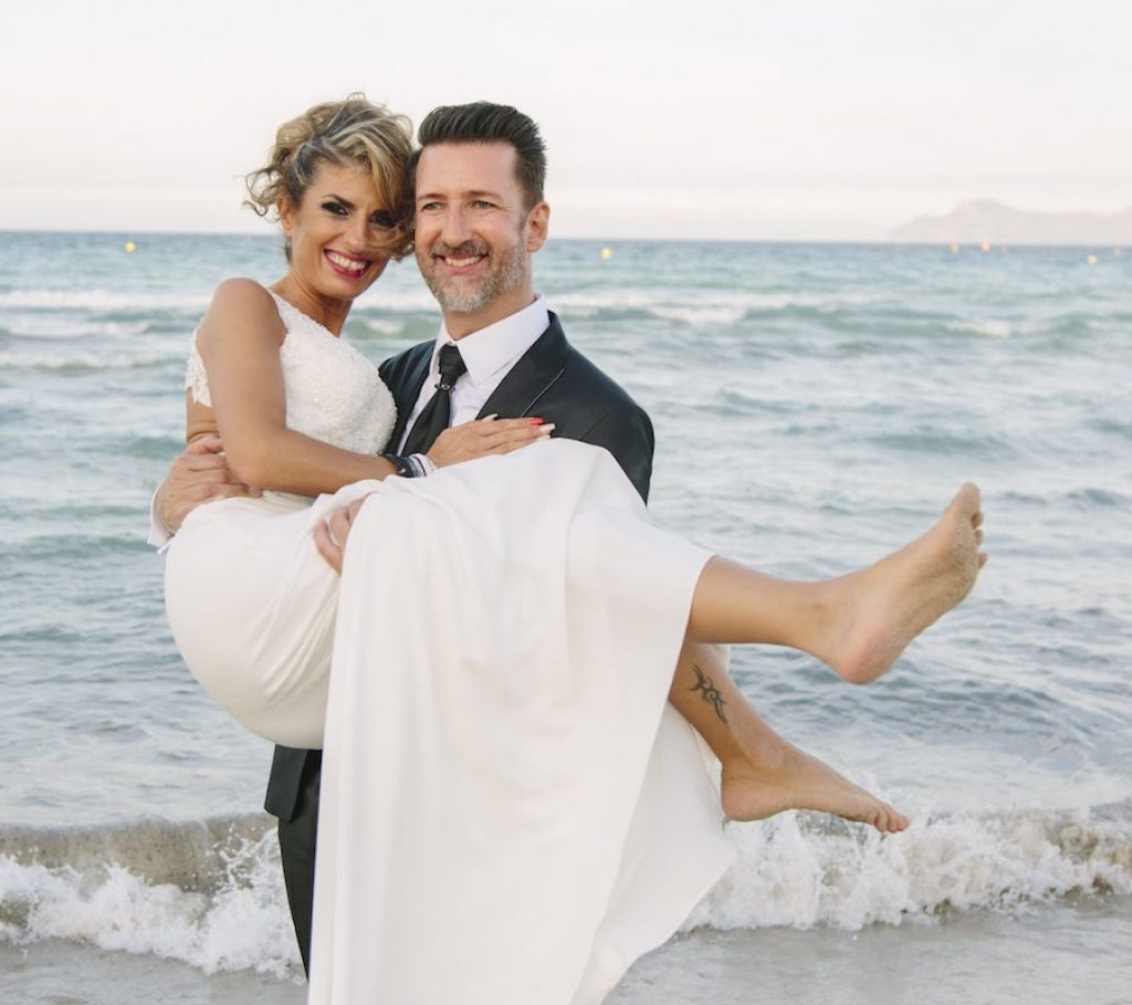 Royal beach club wedding in Alcudia Mallorca